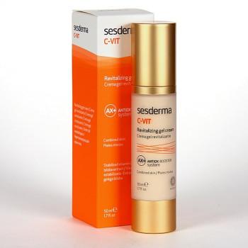C-Vit Revitalizing Gel Cream Antox - Гель-крем увлажняющий антиоксидантный для лица С-Вит SESDERMA