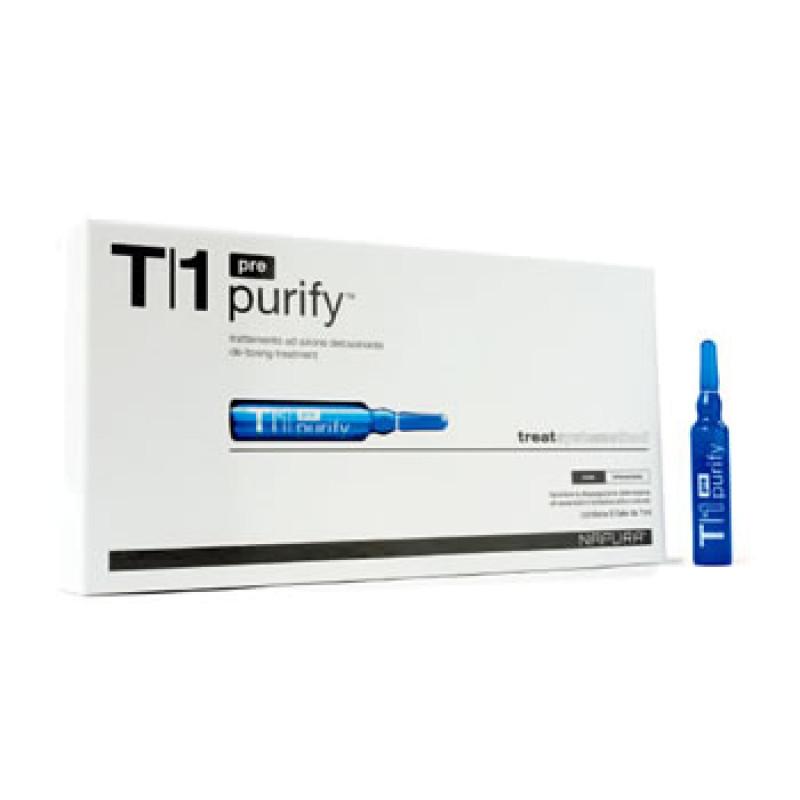 Purify Pre ampoule T1 Ампулы для биологического очищения перед шампунем.Detox NAPURA