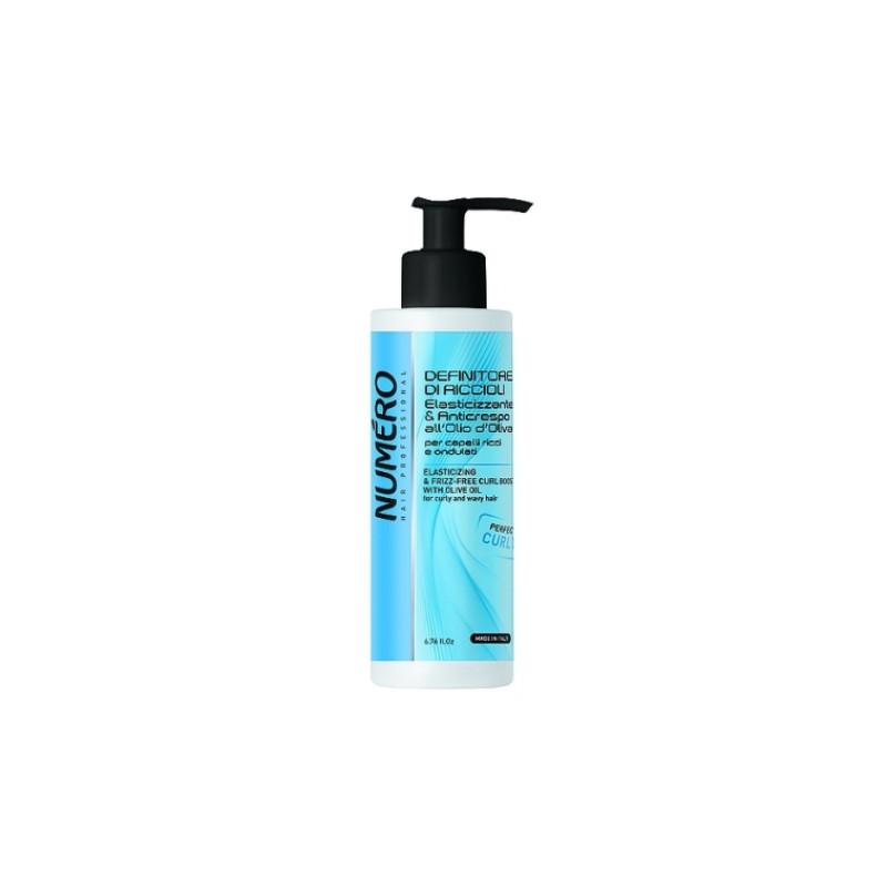 NUMERO CURLY Гель для моделирования с оливковым маслом для вьющихся и волнистых волос BRELIL PROFESSIONAL