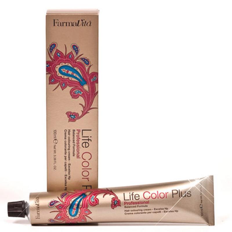 Стойкая крем-краска для окрашивания и тонирования волос Life Color Plus FARMAVITA