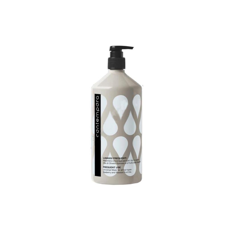 Маска универсальная для всех типов волос с маслом облепихи и маслом маракуйи BAREX ITALIANA