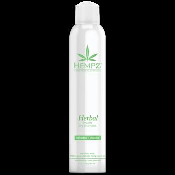 Сухой растительный Шампунь Здоровые волосы Herbal Instant Dry Shampoo HEMPZ