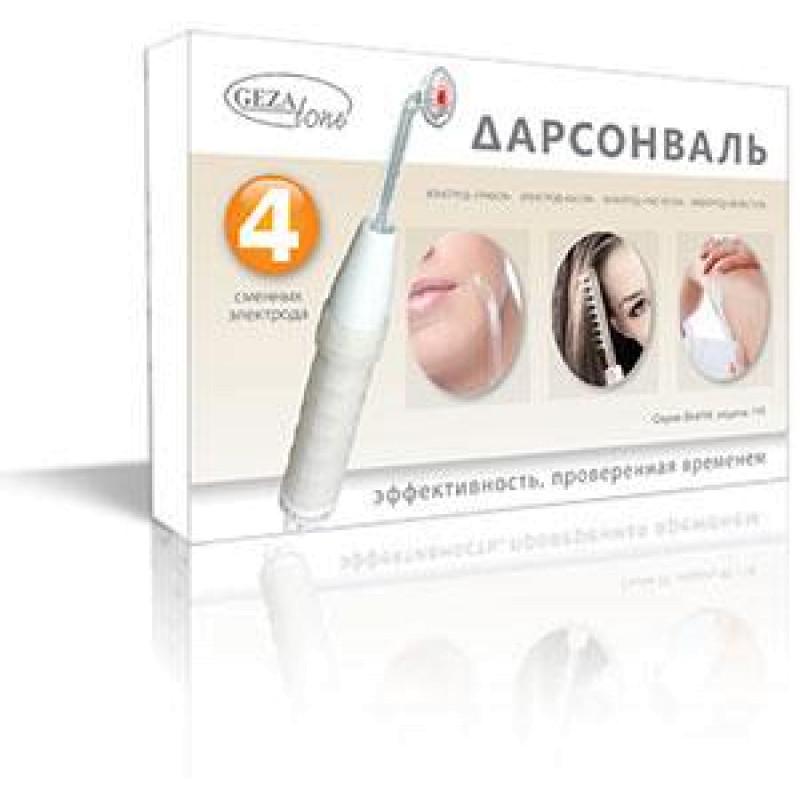 Дарсонваль для лица, тела и волос с 4мя насадками Biolift4 118 (BT-118) GEZATONE