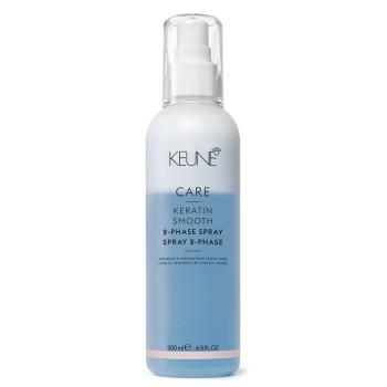 Двухфазный Кондиционер-спрей Кератиновый комплекс CARE Keratin Smooth 2 Phase Spray KEUNE