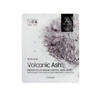 Себум - контроль маска с вулканическим пеплом Sebum Control Mask Sheet WINAGE
