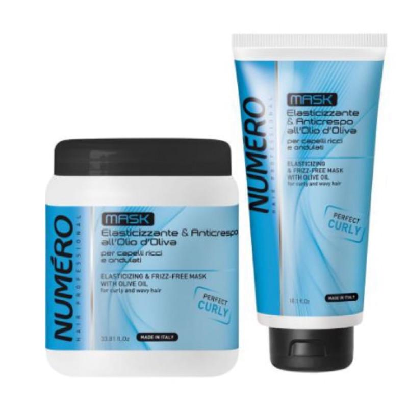 NUMERO CURLY Маска с оливковым маслом для вьющихся и волнистых волос BRELIL PROFESSIONAL
