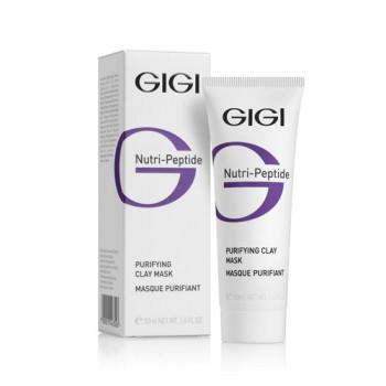 Очищающая глиняная маска для жирной кожи NP Purifying Clay Mask Oily Skin GIGI