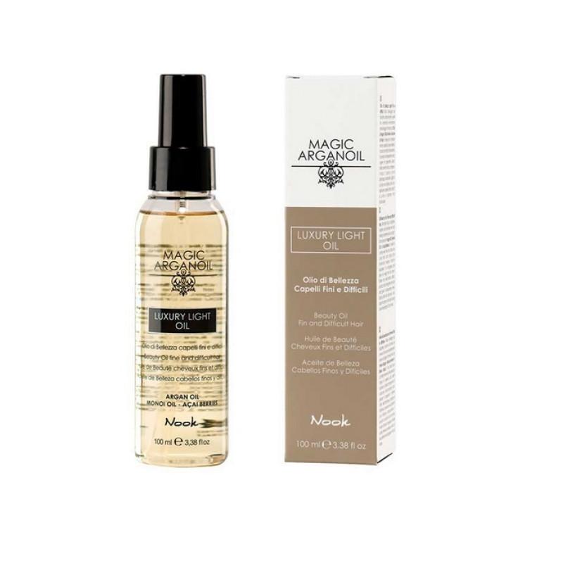 Люкс-Масло для тонких и непослушных волос Магия Арганы Luxury Light Oil NOOK