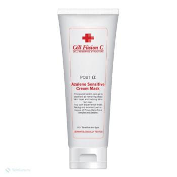 Азуленовая крем-маска для чувствительной и раздраженной кожи Azulen Sensitive Cream Mask CELL FUSION C