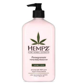 Молочко для тела увлажняющее Гранат Pomegranate Herbal Body Moisturizer HEMPZ