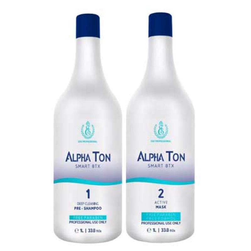 Набор Горячий ботокс для волос Alpha Ton ESK PROFESSIONAL