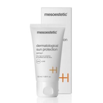 Dermatological sun protection SPF 50+ Дерматологическое солнцезащитное средство Mesoestetic