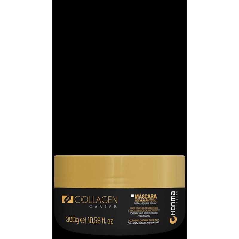Маска для глубокого увлажнения Collagen Caviar HONMA TOKYO