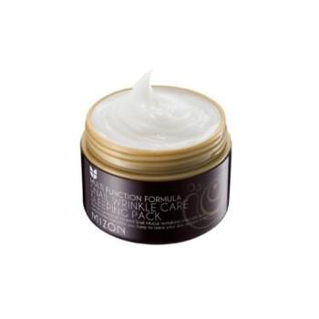 Ночная маска для лица против морщин с муцином улитки Snail Wrinkle Care Sleeping Pack MIZON