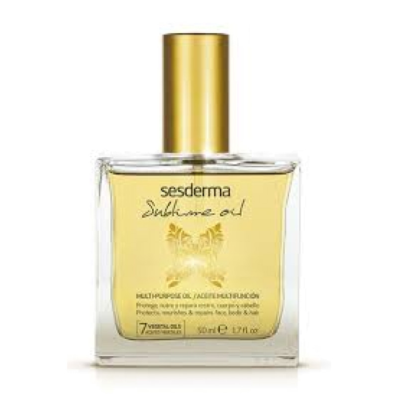Масло для лица,тела и волос питательное и восстанавливающее SUBLIME OIL Multi-Purpose oil SESDERMA