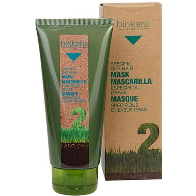 Mascarilla antigrasa маска для жирной кожи головы BIOKERA Salerm (Cалерм)