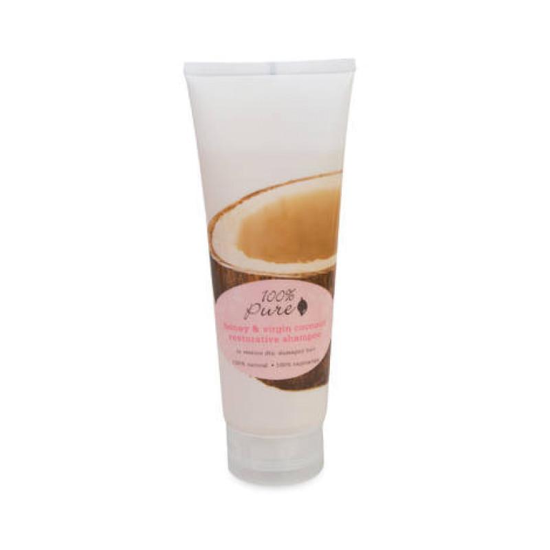 Шампунь тонизирующий Мед и Молодой Кокос Honey & Virgin Coconut Restorative 100% PURE