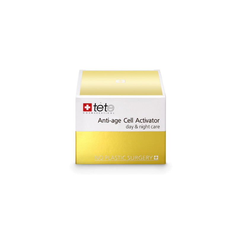 Омолаживающий крем для лица Anti-age Cell Activator (day and night) TETE
