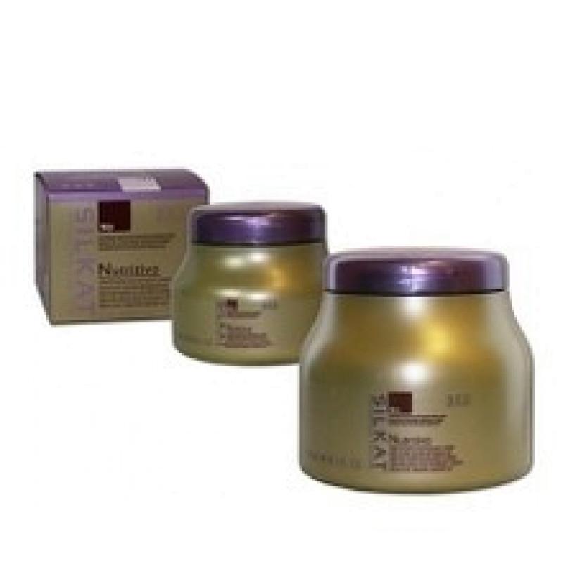 Маска для волос питательный крем с минералами SILKAT NUTRITIVO CREAM N3 BES