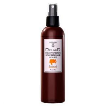 Спрей-кондиционер для облегчения расчёсывания Защита цвета с маслом макадамии Richair EGOMANIA