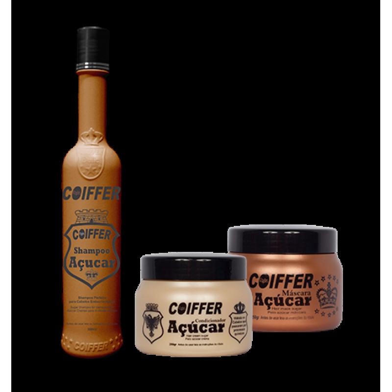 Набор для продления эффекта выпрямление и восстановление сильно поврежденных волос Acurar COIFFER