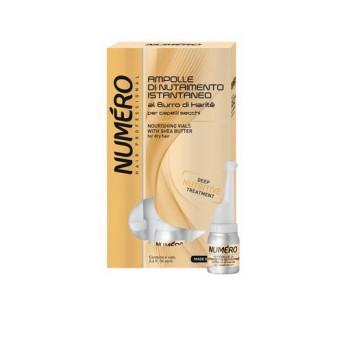 NUMЕRO Karite Nourishing Vials Питательное средство с маслом карите для сухих волос в ампулах BRELIL PROFESSIONAL