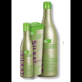 Шампунь для жирных волос SILKAT PROTEIN SEBOEQUILIBRANTE S1 BES