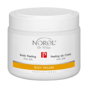 Гелевый пилинг для тела без абразива на основе 20% молочной кислоты рH 4,5 / Body peeling AHA 20% NOREL DR.WILSZ