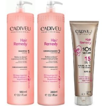 Набор средств для салонного ухода - комплект Hair remedy CADIVEU