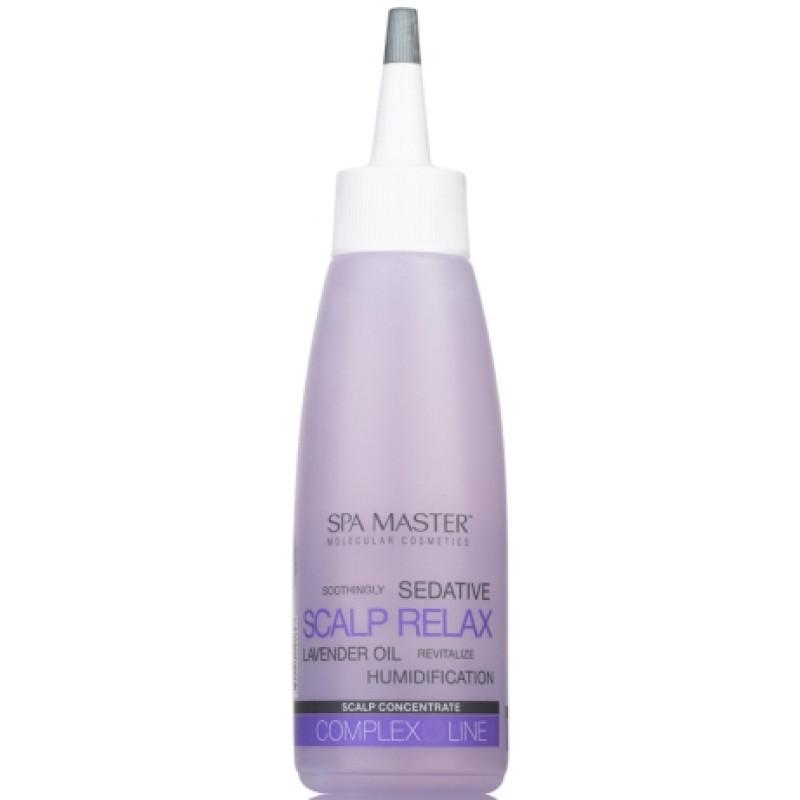 Концентрат для кожи головы с Лавандовым маслом и Бисабололом SCALP CONCENTRATE SPA MASTER PROFESSIONAL