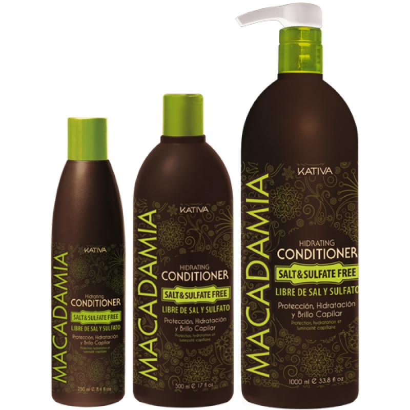 Увлажняющий кондиционер для нормальных и поврежденных волос MACADAMIA KATIVA