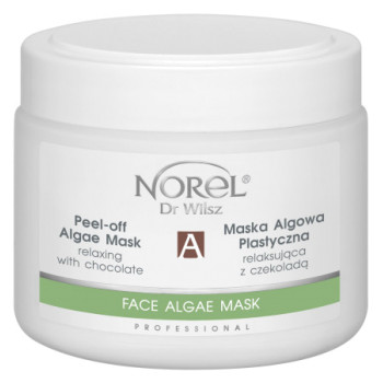 Альгинатная шоколадная маска на основе морских водорослей /Peel-off algae mask relaxing with chocolate NOREL DR.WILSZ