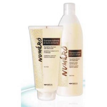 PROFESSIONAL NUMERO KARITE SHEA BUT SHAMPOO Шампунь с маслом Карите и Авокадо BRELIL PROFESSIONAL