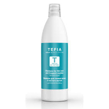 Шампунь для тонких волос и частого мытья с растительным комплексом TEFIA
