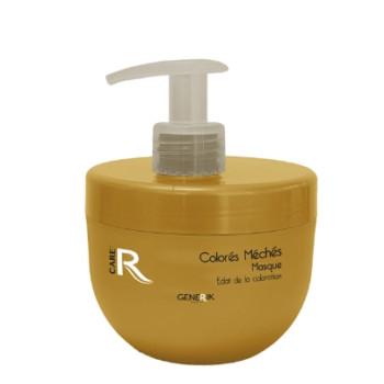 Питательная маска с аргановым маслом и коллагеном для осветленных и мелированных волос GENERIK