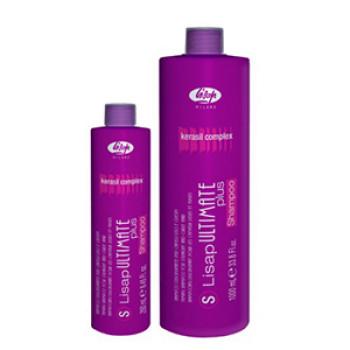 Шампунь с разглаживающим действием для гладких и вьющихся волос S-LISAP ULTIMATE PLUS TAMING SHAMPOO FOR STRAIGHT AND CURLY HAIR LISAP MILANO