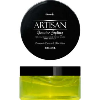 Воск - блеск для укладки волос Brillina Glossy Shining Wax NOOK
