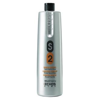 Увлажняющий шампунь для сухих и непослушных волос S2 Dry and Frizzy Hair Shampoo ECHOSLINE
