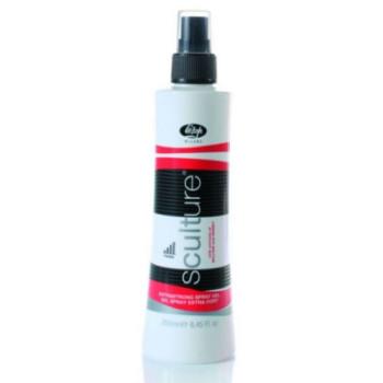 Гель-спрей для волос экстра-сильной фиксации 'SCULTURE EXTRASTRONG SPRAY GEL' LISAP MILANO