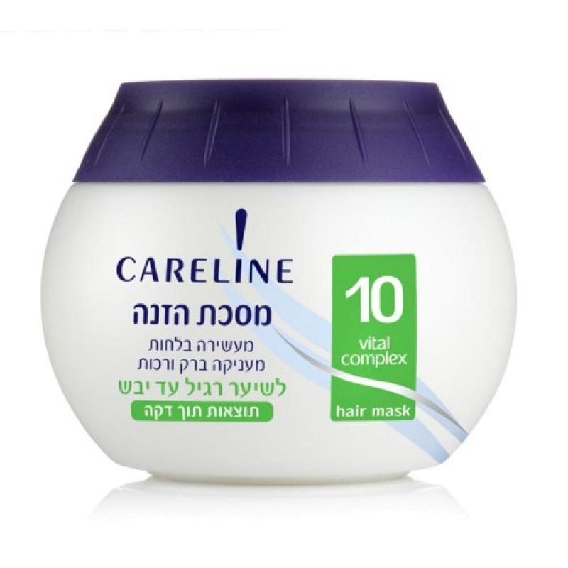 Маска для нормальных и сухих волос CARELINE
