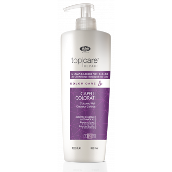 Стабилизатор цвета - Top Care Repair Color Care After Color Acid Shampoo LISAP MILANO