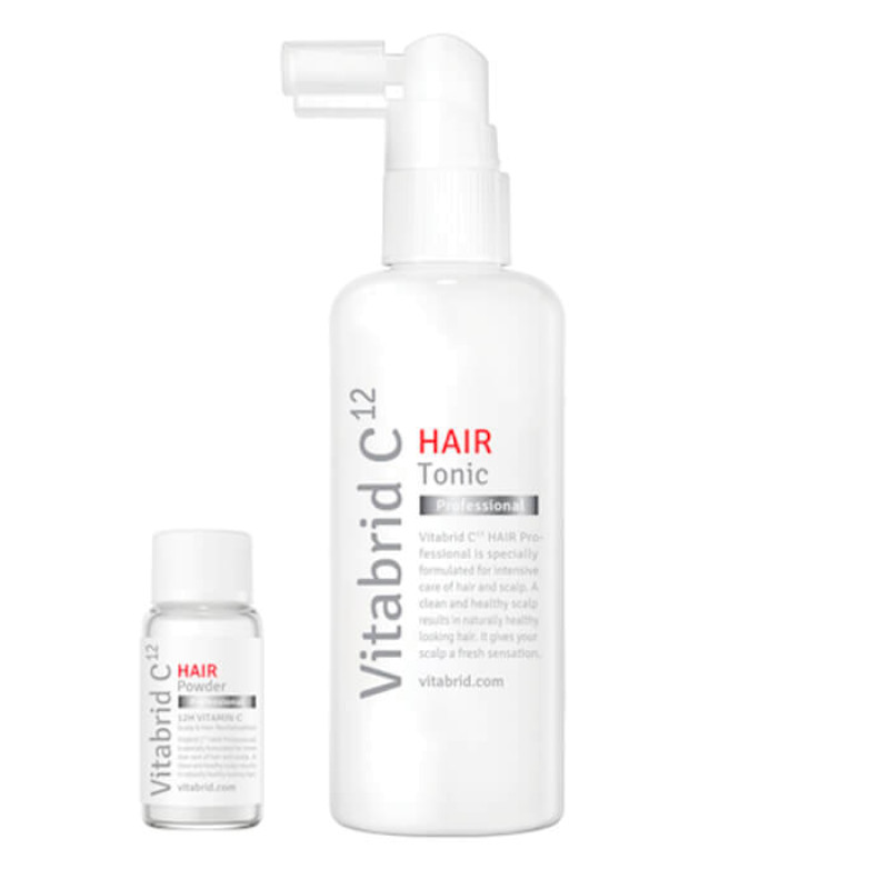 Тоник и пудра Hair Professional VITABRID C12