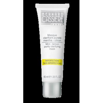 Очищающая матирующая маска мята-лимон BERNARD CASSIERE