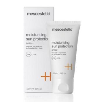 Moisturising sun protection SPF 50+ Увлажняющий солнцезащитный крем Mesoestetic