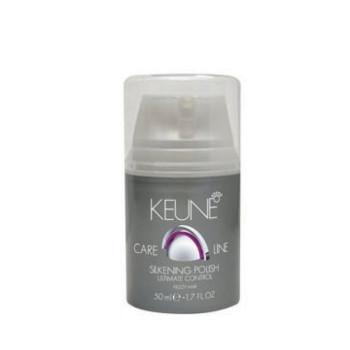 Крем Шелковый глянец Кэе Лайн для кудрявых волос Cl Control Silkening Polish KEUNE