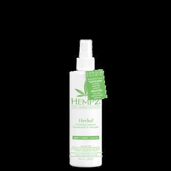 Кондиционер несмываемый защитный Здоровые Волосы Herbal Fortifying Leave-In Conditioner & Restyler HEMPZ