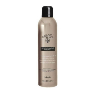 Секретный лак для объемных укладок волос Магия Арганы Secret Volumizing Hairspray NOOK