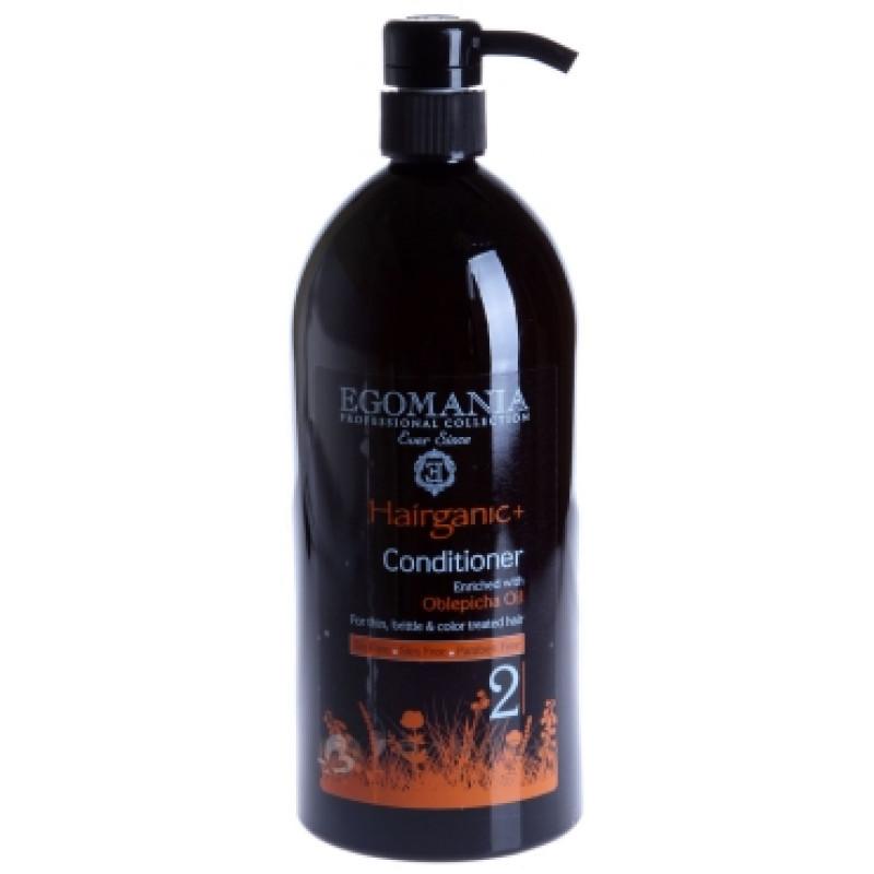 Кондиционер с маслом аргана для сухих и окрашенных волос EGOMANIA