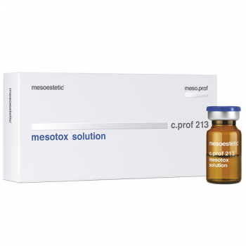Пептидный коктейль против морщин mesotox solution c.prof 213 MESOESTETIC