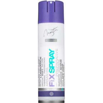 Лак для волос лёгкой фиксации с маслом Арганы, UV-фильтром и термозащитой PREPERATIVE SPA MASTER PROFESSIONAL